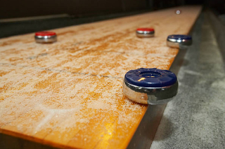 SOLO® Shuffleboard Movers Chico, California.